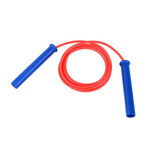 Jump Rope for Fitness Training,Professional fitness Speed Rope PU Rope 2.8M Red