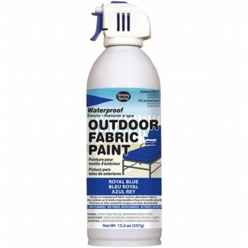 OF0046-8M Outdoor Spray Fabric Paint - 13.3 oz., Royal Blue