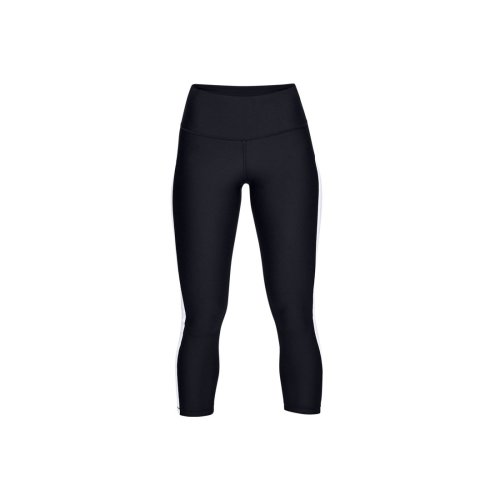 Under Armour HG Armour Ankle Crop Branded 1329151-002 Womens Black leggings