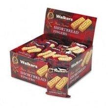 Office Snax Walkers Shortbread Cookies COOKIE,WALKR,2/PK SR001-5Q (Pack of2)