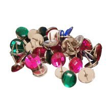 Bright-coloured Push Pins Creative Pushpins For Office&Home,24 PCS