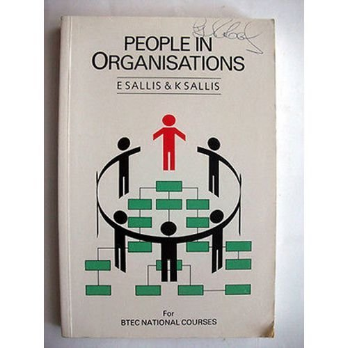 People In Organizations BTEC Courses