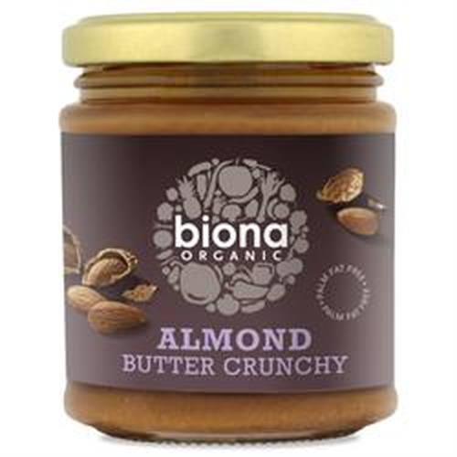 Biona Biona Organic Almond Butter Crunchy 170g