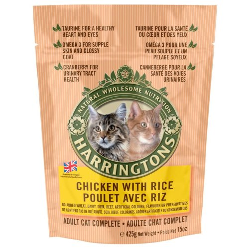 Harringtons Complete Cat Chicken & Rice 425g (Pack of 6)