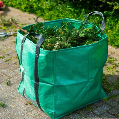 Nature Garden Waste Bag Square Green 252 L 6072405