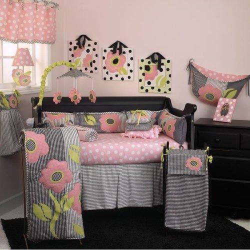 Cotton Tale PY8S Poppy 8-piece Crib Bedding Set