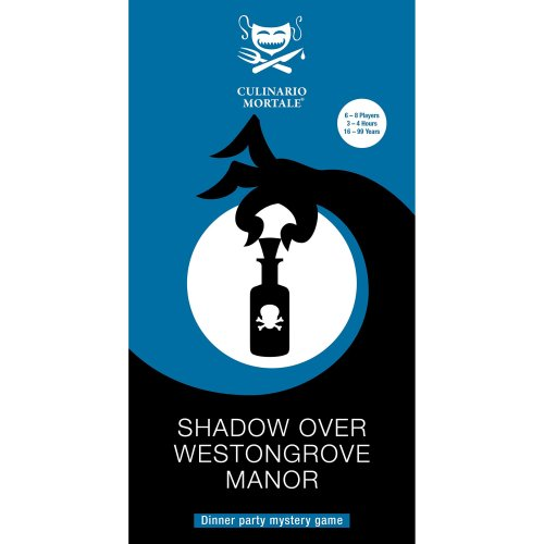 Shadow Over Westongrove Manor – Murder Mystery Party Game for 6-8 Players