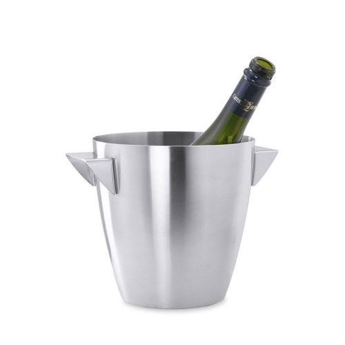 Zack Cius Champagne Bucket - Brushed Stainless Steel