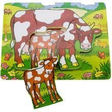 Bigjigs Chunky Cow Puzzle