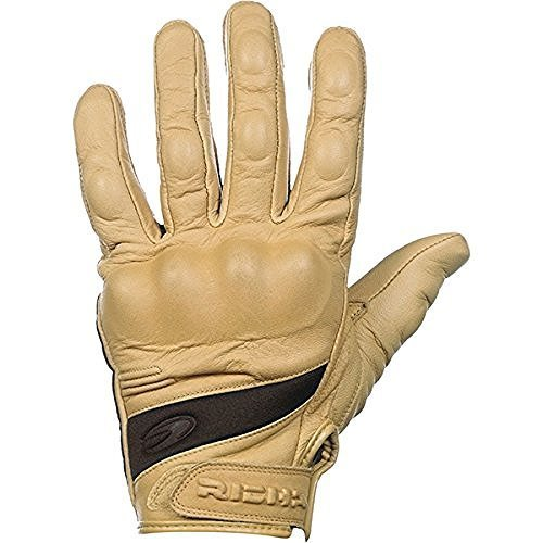 Richa Custom Leather Summer Short Motorcycle Gloves Tan