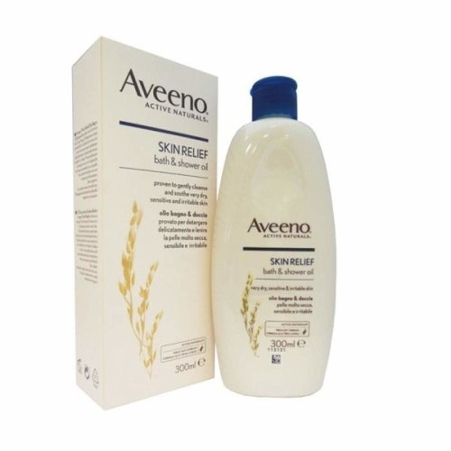 Aveeno Skin Relief Soothing Bath & Shower Oil 300 ml, Active Naturals