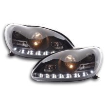 Daylight headlight  Mercedes S-Classe W220 Year 02-05 black