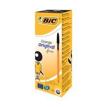 Bic Orange Fine Black Pens (pack of 20)