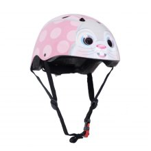 Kiddimoto Children's Bike / Scooter / Skateboarding Helmet - Bunny Design