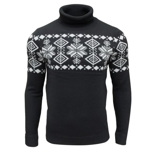 Soul Star Men's Boatsman Nordic Roll Neck Jumper