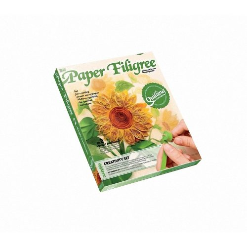 Elf967002 - Josephin - Paper Filigree - Bright Sunflower