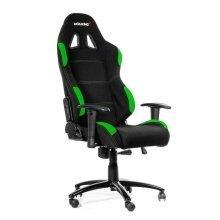 Ak Racing Gaming Chair With Height Adjustment - Black/Green (AK-K7012-BG)
