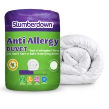 Slumberdown Anti Allergy 10.5 Tog Duvet - Double, White