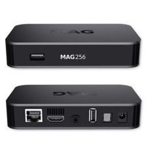 MAG 254w1 Latest Original Linux IPTV/OTT Box - Fast Processor, faster than MAG 250-Genuine Original Box From Infomir With Built-In Wi-Fi Dongle