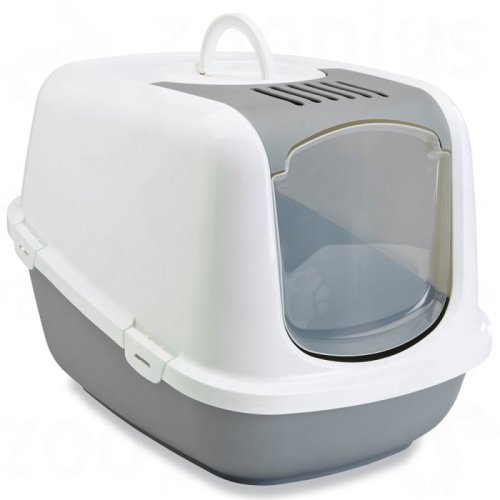 Covered Cat Litter Tray FREE Filter & Trays Bags