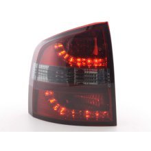 Led Taillights Skoda Octavia Combi Typ 1Z Year 05- red/black