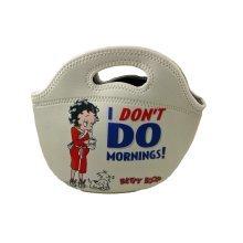 Betty Boop I Dont Do Mornings Neoprene Bag