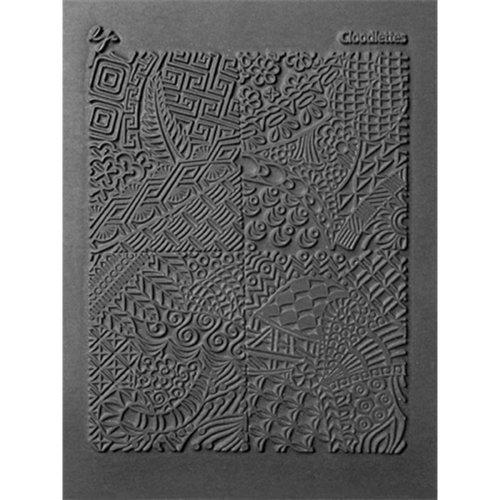 "Lisa Pavelka Individual Texture Stamp 4.25""X5.5""-Cloodettes"