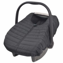 vidaXL Black Baby Carrier Cover | Baby Car Seat Cover
