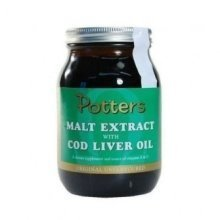 Potters - Malt Extract Cod Liver Oil 650g