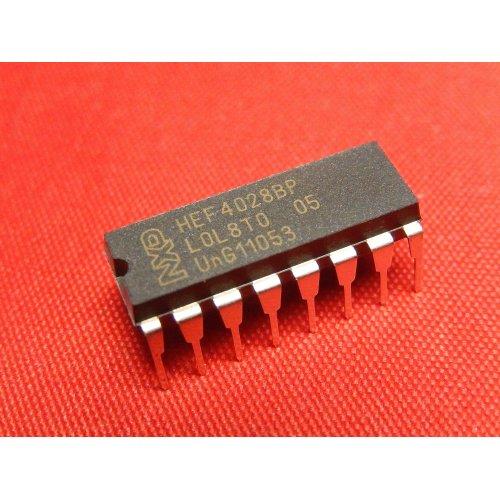 HEF4028BP 4000 series CMOS  NXP Semiconductors