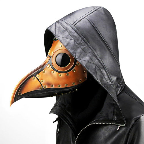 Plague Doctor Mask for Halloween Costume and Masquerade