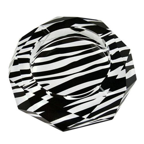 Creative Crystal Ashtray Cigar Ashtray Glass Ashtray Ash Tray Zebra-stripe