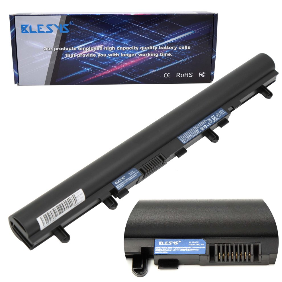 29b69f845015 BLESYS - Acer AL12A32 Laptop Battery Acer Aspire V5-431 V5-471 V5-531  V5-551 V5-571 Battery Replace for AK.004BT.097 4ICR17/65