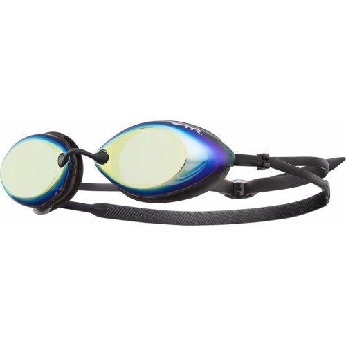 TYR Tracer Racing Metallized Swimming Goggles - Metallic Fire