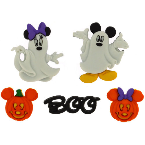 Dress It Up Licensed Embellishments-Disney Mickey & Minnie Ghosts