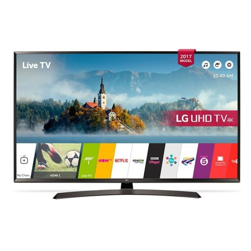 LG 49UJ635V 49 Inch SMART 4K Ultra HD HDR LED TV Freeview Play USB Recording