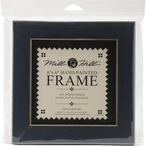 """Wooden Frame 6""""X6""""-Matte Blue"""