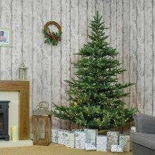 Kaemingk Everlands - Prelit Calgary Fir Artificial Christmas Tree