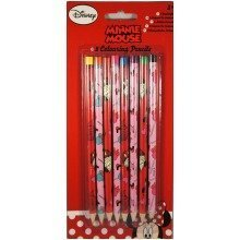 Minnie Mouse Colouring Pencils - 8 Pack