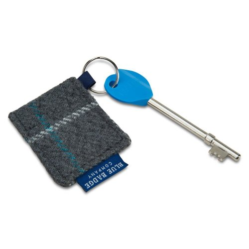 Blue Badge Company Radar Key For Disabled Toilets with Grey/Blue Check Keyring