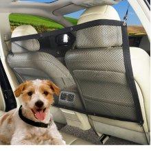 45''x24'' Pet Safety Travel Isolation Net Car Truck Van Seat Pet  Dog Cat Barrier Mesh