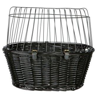 Trixie Lattice Bicycle Basket  With Cushion