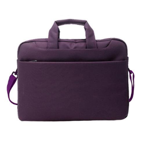"Shoulder Laptop Bag Case Sleeve Computer Bags Briefcase for 14"" Laptops - Purple"