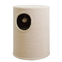 Beige Cathouse/Scratching Post 50 cm