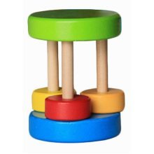 Baby Musical Instruments Creative Rattles Wooden Hand Bell Baby Toys