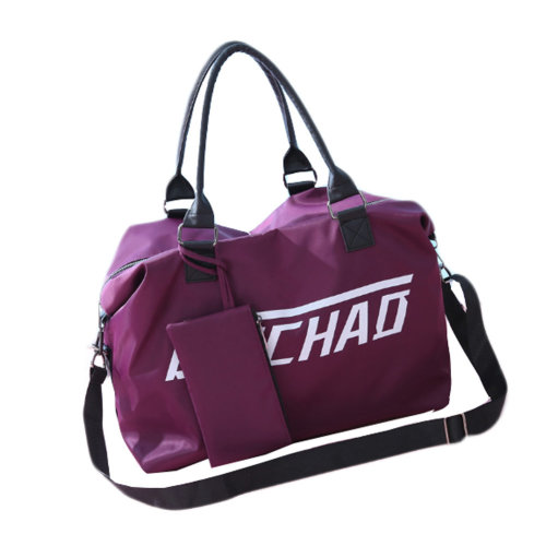 Waterproof  Luggage Bag Travel Bags Gym Bag for Women and Men, F