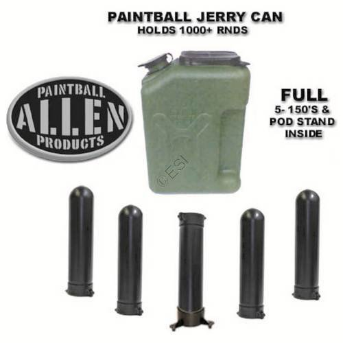 Jerry Can Paintball Canister Pod Loader