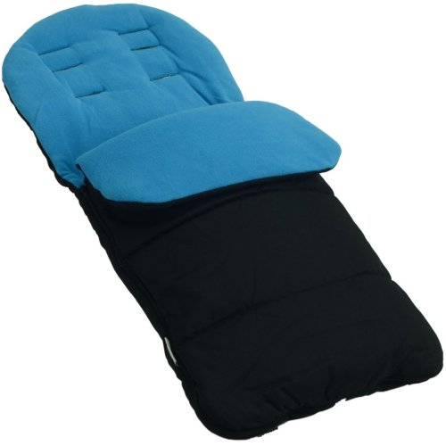 Footmuff / Cosy Toes Compatible with Joie Nitro Stroller LX Pushchair Ocean Blue