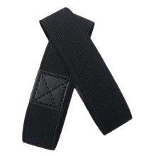 Black Elasticized Shoe Straps To Hold Loose Heels