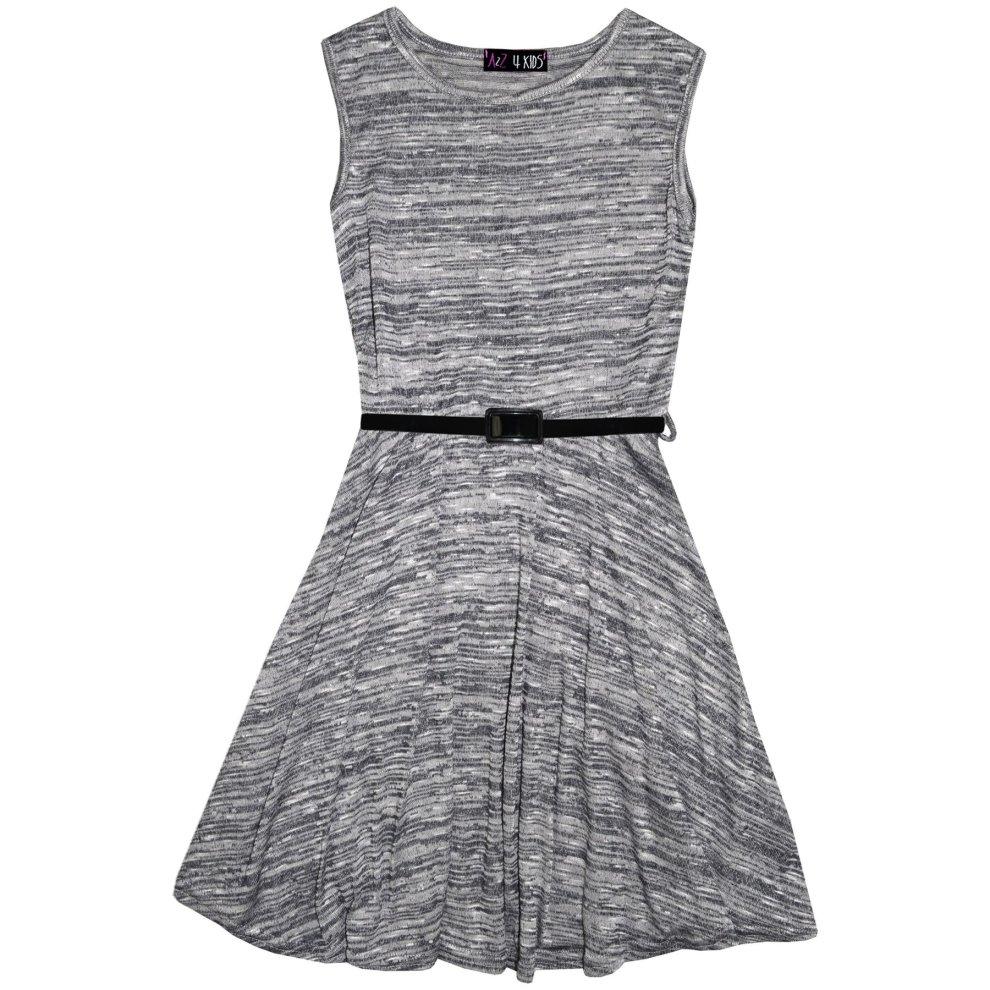 M/&Co Baby Girl Striped Skater Dress